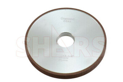 "Shars 4 X 1/8"" D1A1 Straight Style Diamond Wheel 150 Grit New"