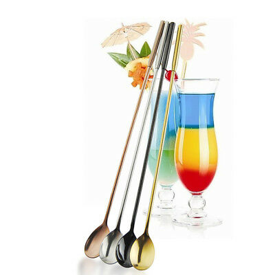 Stainless Steel Cocktail Stirrer Masher Spoon Bar Drink Mixer Multifunctional