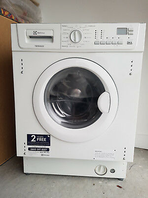 Electrolux built in washerdryer EWX147410W 7kg wash/spin1400 came with new house