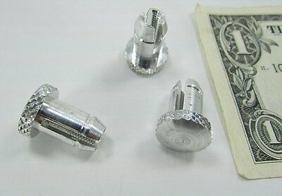 "20 Knurled #10-32 Threaded 3/8"" OD Insert Nuts Nutserts Rivnuts Electronics Rack"