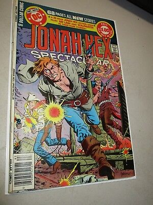 """DC Special Series #16 Jonah Hex Spectacular """"Death"""" of Jonah Hex Dollar Comic"""