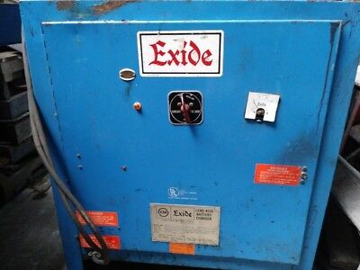 Exide NPC-18-3-550 Lead Acid Battery Charger Fork Lift Charger