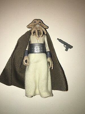 Star Wars Vintage Figur 77-85 Squid Head mit original Waffe