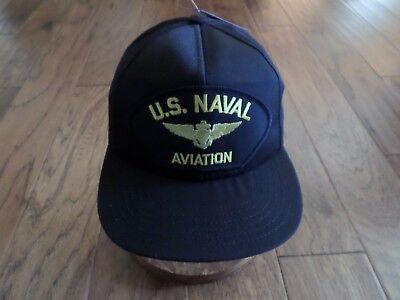 fedae2faaa5 U.s. Military Navy Hat Naval Aviation Marine Corps Ball Cap Navy Pilot U.s  Made