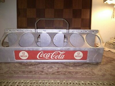 Vintage 1940's Coca Cola 12 Bottle Carrier Excellent Shape