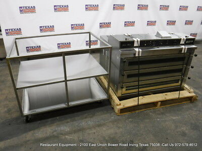 Doyon PIZ6 Electric Baking Equipment Triple Deck Pizza Oven With Stand Year 2015