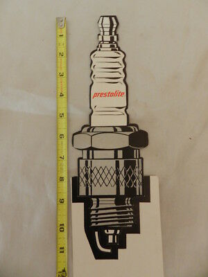 Vintage '60's Prestolite Spark Plugs Advertising Display-Vintage Service Station