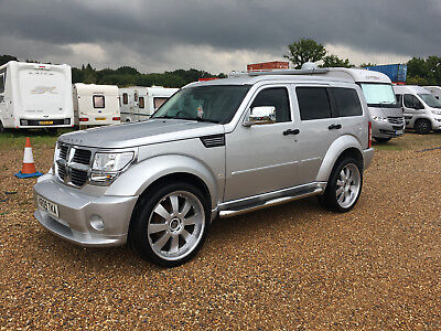 2009 Dodge Nitro Sxt Automatic Diesel Silver 4Wd 4X4 Suv Salvage Damaged Repair
