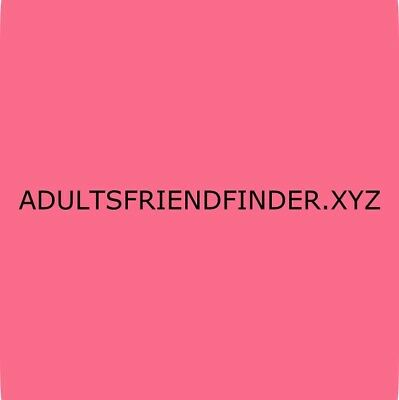 ADULTS FRIEND FINDER Domain Name For Sale, HOT Dating Site Domain Name