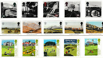 Gb Qe11 1994 3 Sets Of Mint Postage Stamps