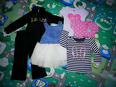 2-3 years Girl bundle: jumper, dress,trousers, tops