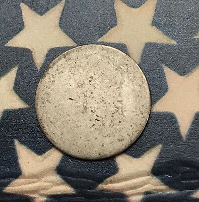 1809-1837 10C Capped Bust Dime 90% Silver Vintage US Coin #FH42