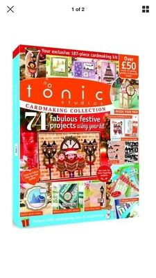 Tonic Studios Card Making Collection Magazine Issue 3