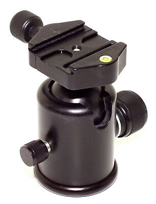 """Kirk BH-3 Ball Head w/ """"Arca-Swiss"""" Compatible Quick Release Clamp - EX+ cond.!!"""