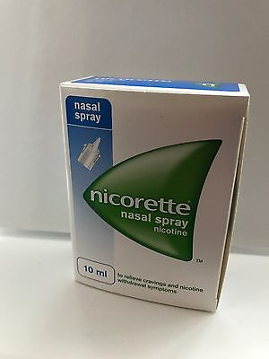 Nicorette Nasal Spray - To Relieve Craving & Nicotine Withdrawal Symptoms - 10ml