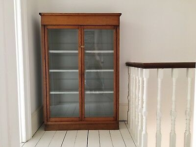 Beautiful Vintage Glass Fronted Cabinet *price lowered
