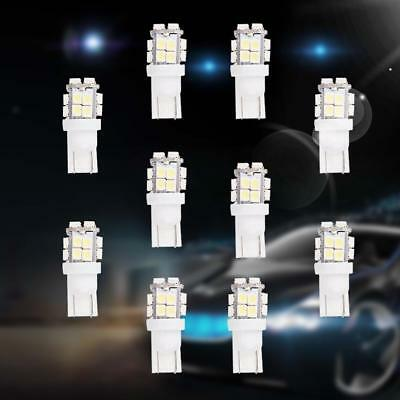 10x T10 1210 SMD LED White Super Bright Car Lights Bulb - 194 168 2825 W5W UP