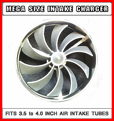 FIT FOR Subaru Tribeca Large Air Intake Turbo Supercharger Engine Fan Charger