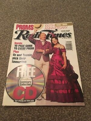 Radio Times. 100th Anniversary Of Proms. 22-28 July 1995