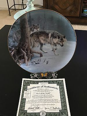 Collectors plate, Winter Guardians: A Masters Collection, by Daniel Smith