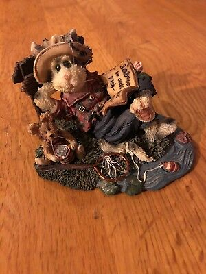 Opey Baithook and Barney - Catch of the Day - Boyd's Bears - 1999 NO RESERVE