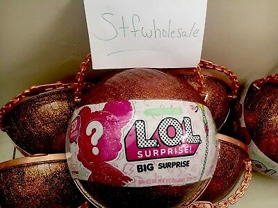 (2) LOL Big Surprise Doll Limited Edition New In Hand Free Shipping, L@@K!