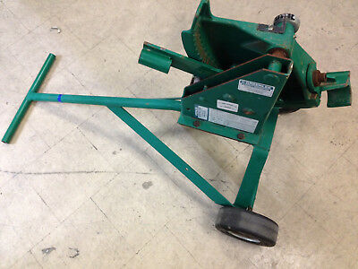 """GREENLEE 1801 MECHANICAL PIPE BENDER 1-1/4"""" and 1-1/2"""""""