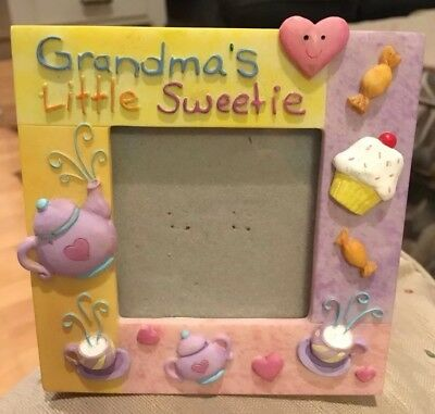 Grandma's Little sweetie Resin frame