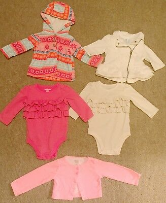 Baby Girl 6-9 Month Carter's Clothing Lot & More, Fall, Winter