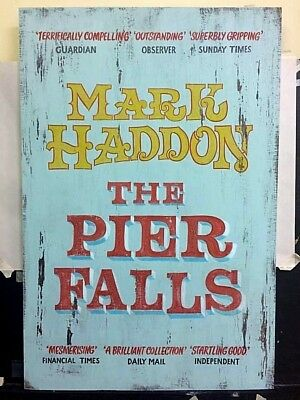 Vintage painted sign for Penguin cover design