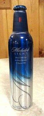 2005 Michelob Light Aluminum Bottle Beer Can #500026 One of First Bottle Made