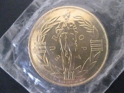 1979 ECU Europa Coin Designed By P. Robier Free Shipping!