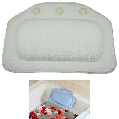 Spa Pool, Bath Headrest Hot Tub Head Rest Pillow Neck Support Removable - NEW