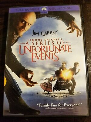 Lemony Snicket's A Series of Unfortunate Events (DVD, 2005, Full Screen)