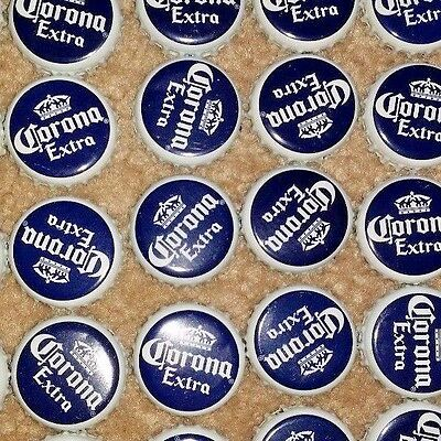 Lot of 600 CORONA WHITE NAVY BEER BOTTLE CAPS CROWNS FREE FAST SHIPPING