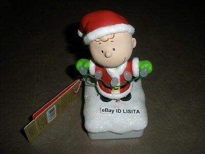 Hallmark 2015 Charlie Brown from The Peanuts Wireless Band NWT
