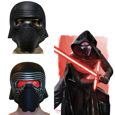 Kylo Ren LED Mask Star Wars 7 Force Awakens Cosplay PVC Full Head Helmet Adults