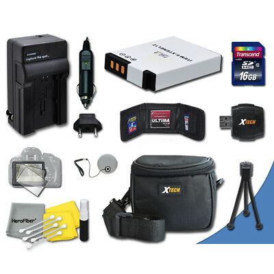 Ideal Accessory Kit for Nikon Coolpix AW100, AW110 Digital Cameras