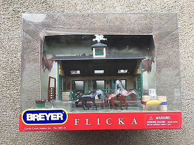 New NIB Breyer Horse Mini Whinnies #300131 Flicka Goose Creek Stables Set