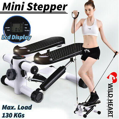 Mini Stepper Cardio Trainer Fitness CALVES THIGH EXERCISE WORKOUT TWISTER GYM W