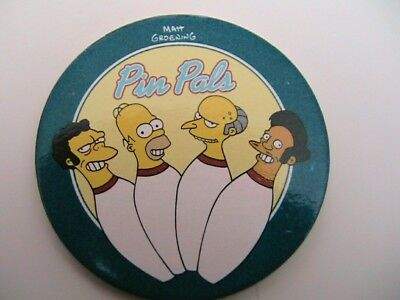 """simpsons picker tazo #32  """"the sporting life"""""""