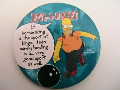 """simpsons picker tazo #36 """"the sporting life"""""""