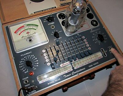 Superior Instrument Company TV-12 valve tube tester mutual conductance