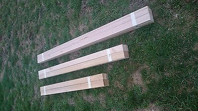 Timber - Vic Ash - Single Bevel Architraves - 65 x 19mm - Utility Grade