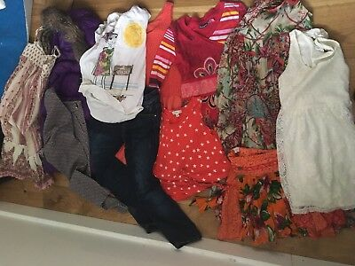 Girls Clothes Bundle 11 Pieces Sizes 6,7,8 GapKids, Zimmermann, Coatimini & More