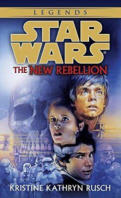 Star Wars: The New Rebellion by Rusch, Kristine Kathryn Paperback Book The Cheap