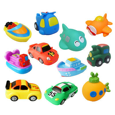 Baby Floating Kids Children Bath Tub Time Fun Play Plastic Boats Toys random HOT