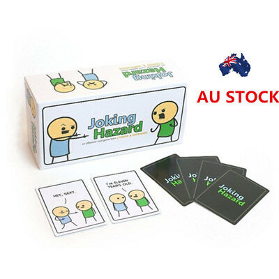 Joking Hazard Game Card Party Kickstarter Cyanide And Happiness Box Edition