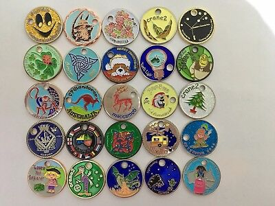Pathtags - Lot Of 25, South Australian Caching Team Tags