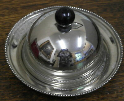 vintage siver plate MUFFIN DISH